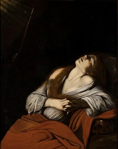 Louis Finson, Maddalena in estasi, 1612 circa, olio su tela, 126x100 cm, Musée des Beaux-Arts, Marsiglia