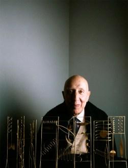 Fausto Melotti, 1983 ©Toni Thorimbert. Courtesy Montrasio Arte © Vittorio Pigazzini. Courtesy Montrasio Arte