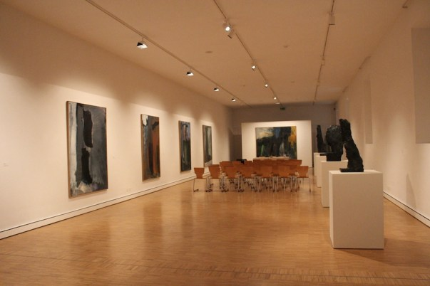 Per Kirkeby. I luoghi dell'anima del grande maestro scandinavo, veduta della mostra, Museo d'arte Mendrisio, Mendrisio (Svizzera)