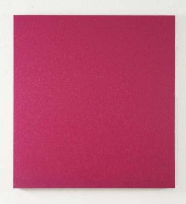 Sonia Costantini, MB 11 - 30 Rosa Oltremarino, 2011, acrilici e olio u tela, 120x112 cm Foto Bruno Bani, Milano