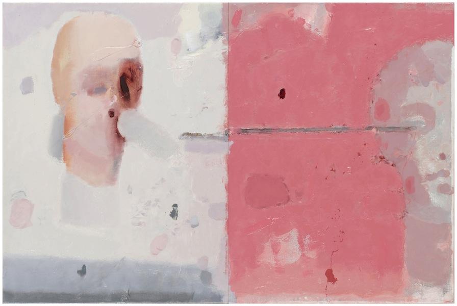 Guido Pecci, Roma#1, 2016, olio su tela, dittico, 40x60 cm Courtesy Galleria Honos Art, Roma