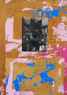 Michael Rotondi, Still Life, 2016, tecnica mista su tela, 70x50 cm