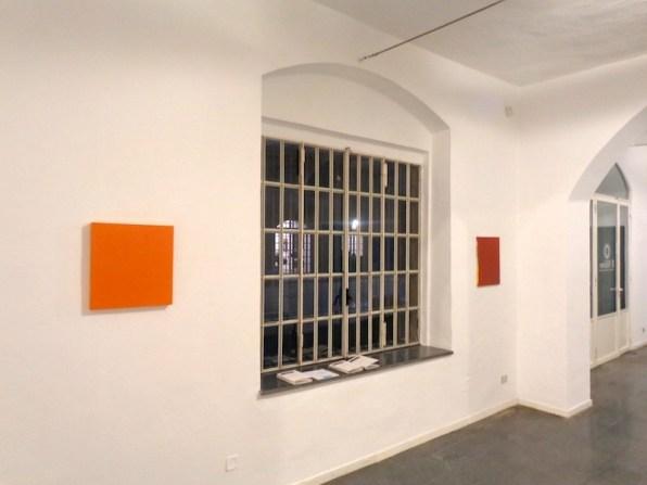 Pittura di colore. Renate Balda, Sonia Costantini, Inge Dick, veduta della mostra (Renate Balda), Galleria il Milione, Milano