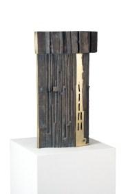 Kengiro Azuma, MU-116, 1964, bronzo, 80x37x21 cm