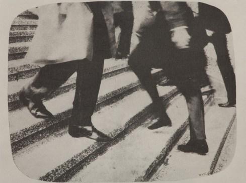 Mimmo Rotella, Vieni e vai, 1965, mec-art su tela, 50 x 80 cm, courtesy Frittelli arte contemporanea, Firenze