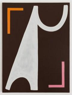 Ulrike Müller, Béla, 2015, olio su tela, 91,4 x 68,6 cm, Courtesy of the artist and Callicoon Fine Arts, New York, © the artist