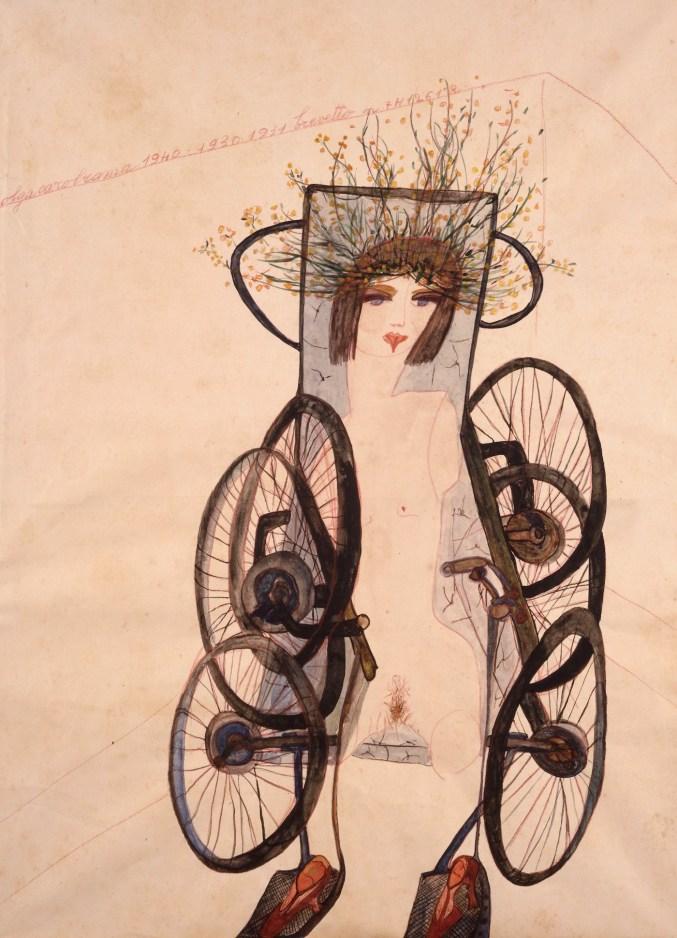 Appassionata, 1940 41.5 x 30.5 cm, Acquerello e matita su carta. Fondazione Guido ed Ettore De Fornaris, GAM – Galleria d'Arte Moderna e Contemporanea, Torino