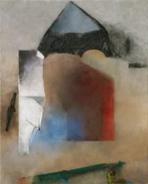 Giuseppe Santomaso, Bianco Pietra d'Istria, 1988, 162x130 cm