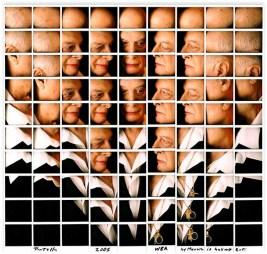 Maurizio Galimberti, Rotella, 2005, mosaico polaroid, Collezione privata