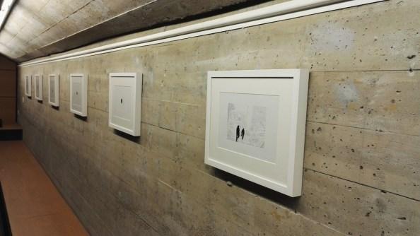 Giorgio Tentolini. Iconoclastie, veduta della mostra, Spazio Aperto San Fedele - Galleria San Fedele, Milano