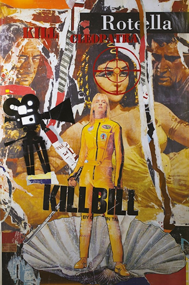 Italiancode, Kill Cleopatra, 2016, tecnica mista su tela, 150x100 cm