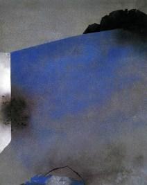 Giuseppe Santomaso, L'angolo del dubbio, 1987, 93x72 cm