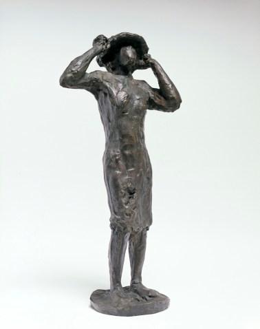 Luigi Broggini, Figura al sole, 1938-39, scultura in bronzo, 43.5x29x13 cm Foto Paolo Vandrasch Courtesy Collezione Giuseppe Iannaccone, Milano