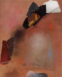 Giuseppe Santomaso, Qualcosa fugge, 1989, 93x72 cm