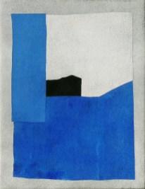 Giuseppe Santomaso, Senza titolo, 1980, 39.5x30 cm