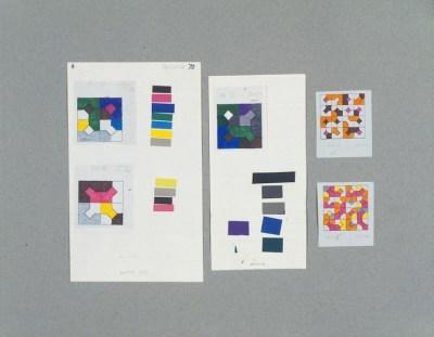 Bruno Munari, Disegni progettuali delle Curve di Peano, 1974-1975 Foto Roberto Marossi Courtesy Fondazione Jacqueline Vodoz e Bruno Danese