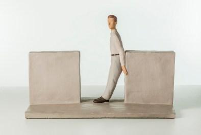 Nando Crippa, Senza titolo, 2005, terracotta dipinta, 32.5x48.5x26.5 cm Courtesy Galleria Seno, Milano Foto © Stefano Pensotti