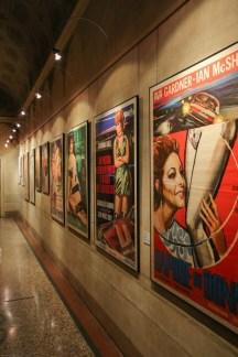 Il colore delle stelle. Mitografie del femminile nei manifesti delle collezioni CSAC, Palazzo Pigorini. Foto: Federico Avanzini