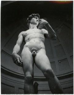 Patti Smith, Michelangelo, David, Florence, 2007, Stampa su gelatina al bronuro d'argento, 35.56 X 27.94 cm