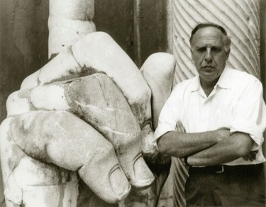 Philip Guston, ROme, 1960 Photo credit Virginia Dortch