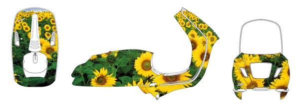 Simone D'Auria, Sunflower dx (Progetto Vespa Ferragamo)