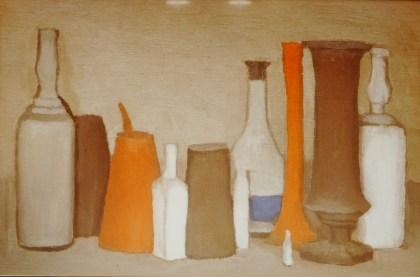 Giorgio Morandi, Natura morta, 1938, olio su tela, 30.2x45.3 cm, FAI-Fondo Ambiente Italiano, Villa Necchi Campiglio, Collezione Claudia Gian Ferrari, Milano Foto Alberto Bortoluzzi
