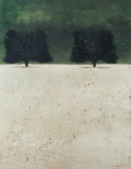 Carlo Mattioli, Paesaggio d'estate, 1973, olio su tela, 95x75 cm, Collezione privata Crediti Archivio Mattioli