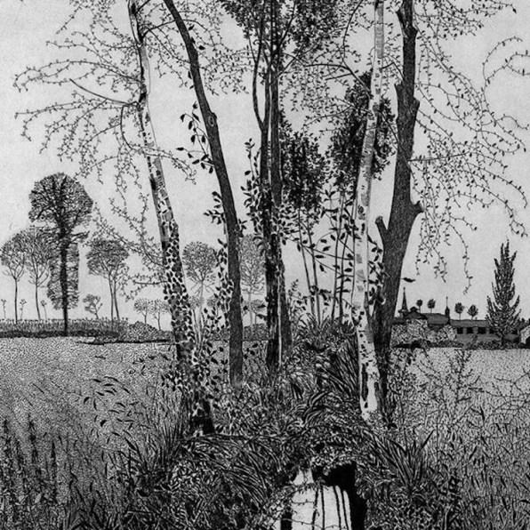 Federica Galli, Cascina Sant'Anna, 1984, 63.8x34.7 cm (particolare)