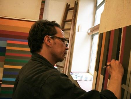 Marco Petrus nello studio