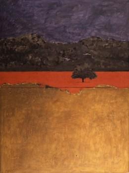 Carlo Mattioli, Papaveri in Versilia, 1974, olio su tela, 155x119 cm, Collezione privata Crediti Archivio Mattioli