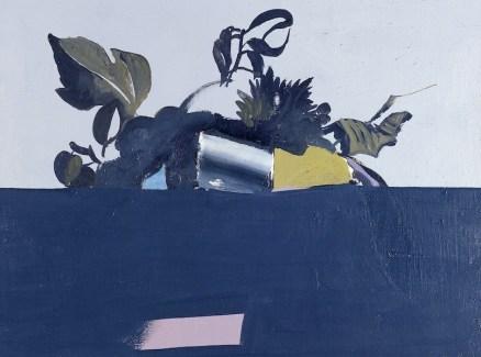 Carlo Mattioli, Dal Cestino del Caravaggio, 1967 olio su tela, 45x40 cm, Collezione privata Crediti Archivio Mattioli