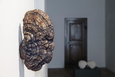 Lupo Borgonovo, Ear, 2015, bronzo, 40x23x10 cm Courtesy Lupo Borgonovo e Monica De Cardenas Gallery