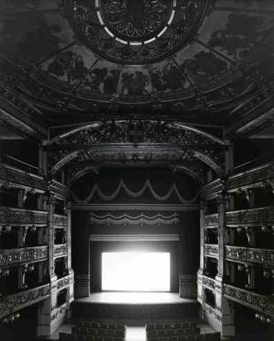 Hiroshi Sugimoto, Teatro Carignano di Torino, 2016 (screen side)