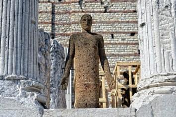 Mimmo Paladino. Ouverture, veduta dell'installazione, Capitolium, Brescia Foto © Salvetti Francesco