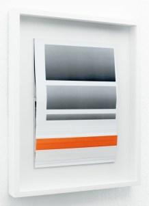 Gemis Luciani (Arbon, Svizzera, 1983), Iconografia marginale, dalla serie Marginal composition, 2016, 5 collage, 50x40x5 cm ciascuno
