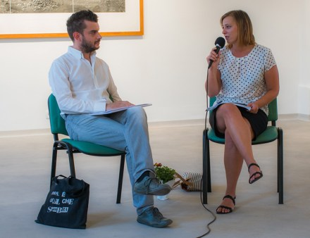 carlo sala curator talk exhibition ground and cement. archivio art stays 2017