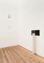 Markus Raetz, veduta della mostra Galleria De Cardenas, Zuoz
