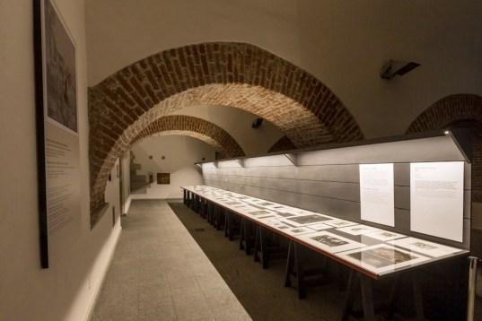 Giancarlo Vitali. Time Out, veduta dell'allestimento, Sala Viscontea, Castello Sforzesco, Milano