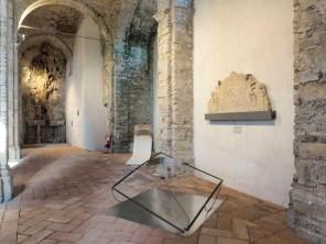 Opposte similitudini Valdi Spagnulo Attilio Tono, veduta della mostra, Ex Abbazia di San Remigio, Parodi Ligure (AL) Foto © Andrea Repetto