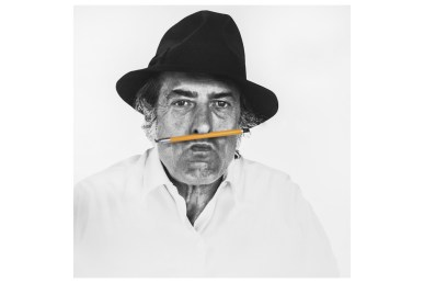 Armando Testa, foto di Gemma De Angelis Testa, 1980. Courtesy: Collezione Gemma De Angelis Testa