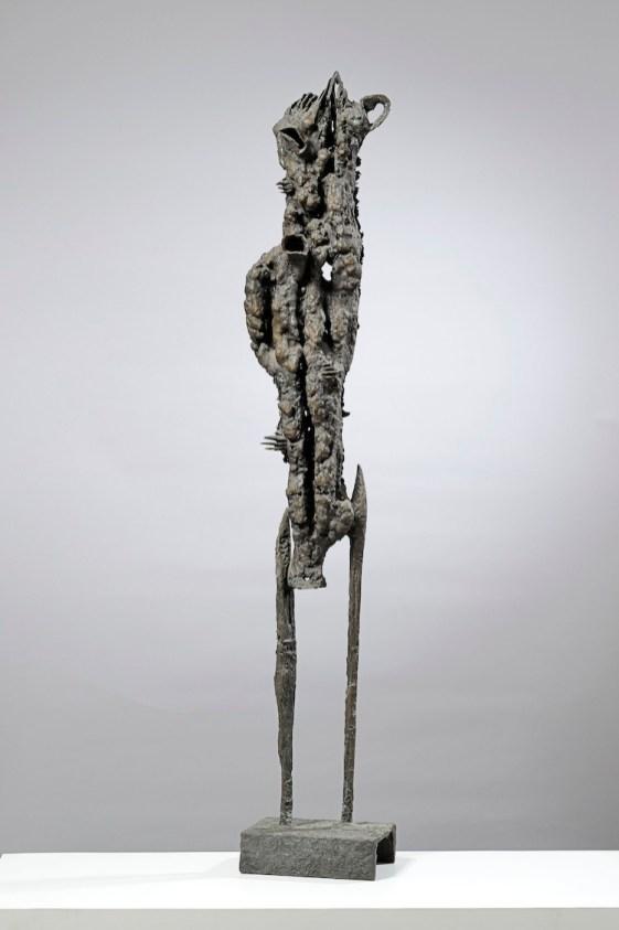Agenore Fabbri, Personaggio, 1959, bronzo, 118.5 cm