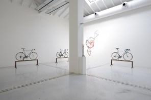 The Bike Connection installation view. Foto: Michele Alberto Sereni Studio la Città, Verona
