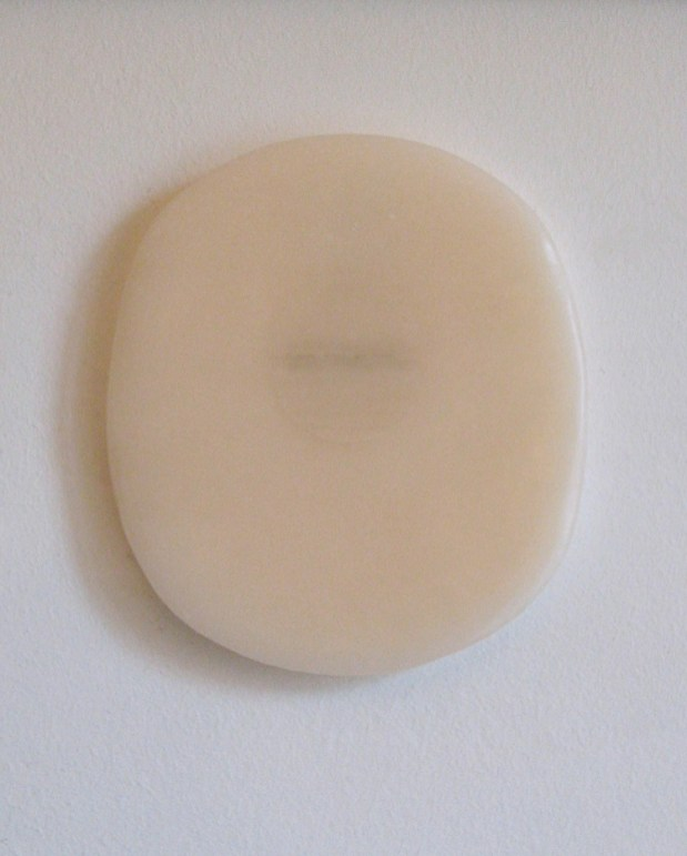 Elena Modorati, Related Mask, 2015, cera e carta, 25.3x22.5 cm