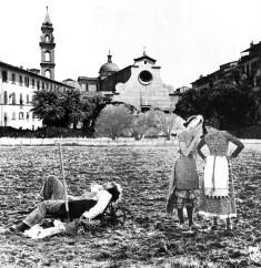 Zziggurat, Alberto Breschi, Roberto Pecchioli, La città di foglie, 1972. Firenze, Archivio Alberto Breschi