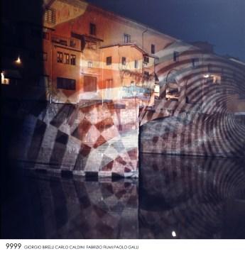 9999, Happening Progettuale su Ponte Vecchio, 1968. San Casciano Val di Pesa (Firenze), Archivio 9999