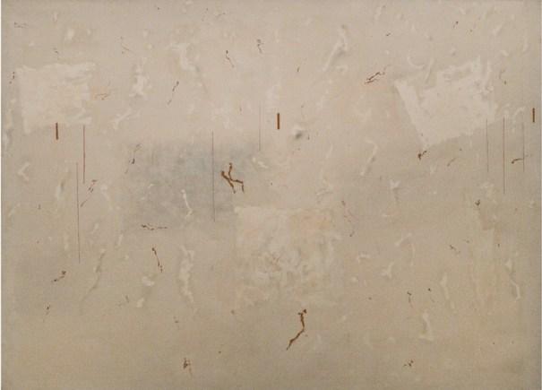 Valentino Vago, M.300, 1969, olio su tela, 180x250 cm