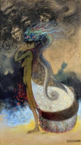 Achille Calzi, La Strega, 1904