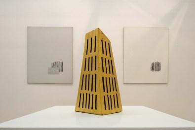 Arturo Vermi. Figure in un tempo-spazio, veduta della mostra, Fondazione Berardelli, Brescia Courtesy Fondazione Berardelli, Brescia