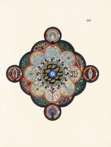 Carl Gustav Jung, Das Rote Buch (Liber Novus), Pagina 105 (dettaglio), 1919-1920, Stiftung der Werke von C. G. Jung, Zürich