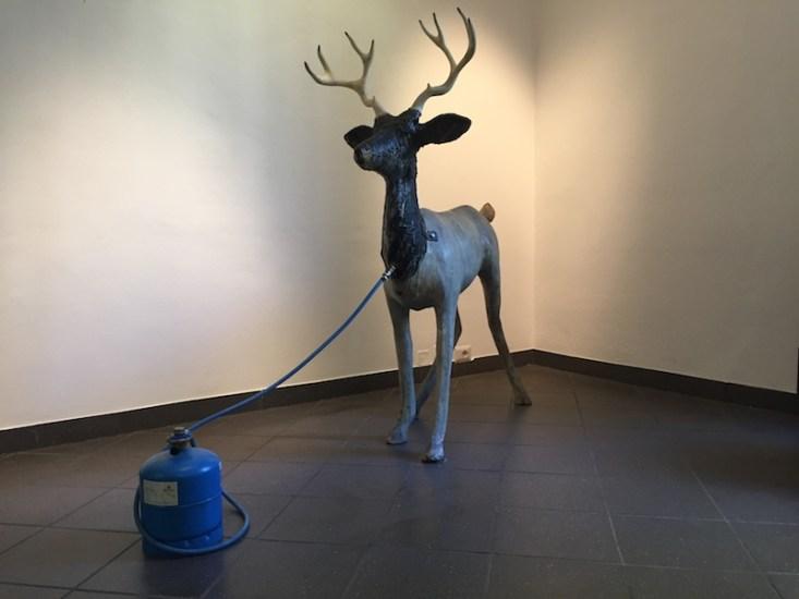 Dennis Oppenheim, Digestion, 1989 Courtesy Montrasio Arte, Montrasio Arte / KM Ø, Milano, Monza